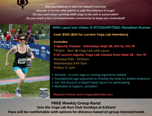 Intro to Yoga for Runners & Athletes: Sept 28-Oct19